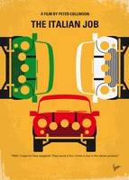 No279 My The Italian Job minimal movie poster