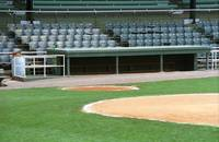 Dugout at the Old Ballpark