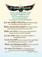 O Great Spirit