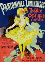 Reproduction of a Poster Advertising 'Pantomimes L