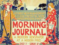 Reproduction of a poster advertising the Morning J