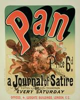 Reproduction of a poster advertising Pan