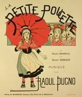 Reproduction of a poster advertising the operetta