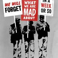 Semi-Protesting Art Prints & Posters by Rob Dobi