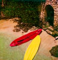 Surf boards in Jamaica