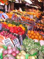 Bright Color at the Market