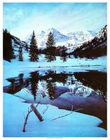 Maroon Bells Winter