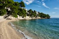 Beach at Brela, Croatia