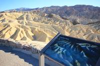 Zabriskie Point double exposure