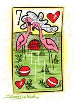 3-2-14 Flamingo Croquet Card Finished