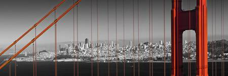 Golden Gate Bridge – Panoramic Downtown View