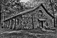 Old Stone Lodge BW