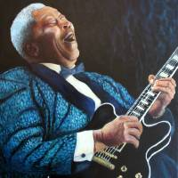 """""""BB King"""" by Frenchart"""