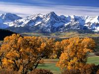 Autumn Colors, Sneffels Range, Colorado