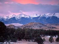 The Sangre de Cristo Range, Colorado