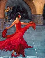 Flamenco Dancer IV