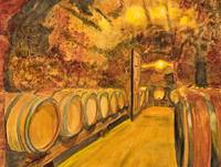 Wine Cave in Provence