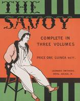 Design for the front cover of 'The Savoy: Complete
