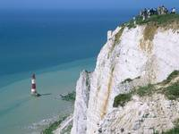 Beachy Head Lighthouse, Eastbourne, East Sussex, E