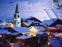 Val d'Isere Village, France