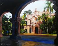 Through The Arches - Casa del Prado Balboa Park
