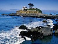 Battery Point Lighthouse, Crescent City, Californi