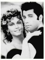 Olivia Newton John and John Travolta in Grease Col
