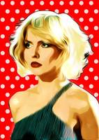 Blondie - Heart of Glass - Pop Art