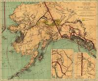 Vintage Map of Gold and Coal in Alaska (1898)