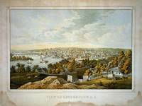 Vintage Pictorial Map of Georgetown (1855)