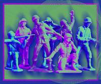 Plastic Army Man Battalion Pop