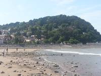 Minhead Beach Somerset