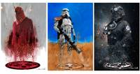 Star Wars triptych