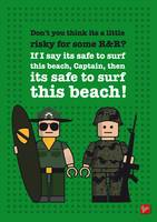 My apocalypse now lego dialogue poster