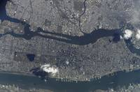 Manhattan Island and its easily recognizable Centr