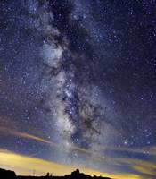 The Milky Way in Serra da Estrela Portugal