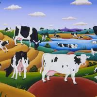 """""""Cows,Cows, Cows"""" by delRio"""