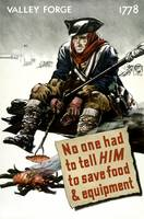 World War II poster of a Revolutionary War soldier