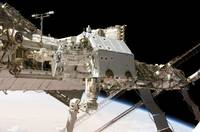The Canadianbuilt Dextre robotic system in the gra