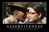 Assertiveness: Inspirational Quote and Motivationa