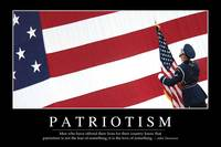 Patriotism: Inspirational Quote and Motivational P