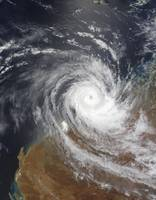 Tropical Cyclone Billy over Australia