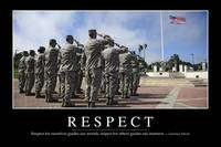 Respect: Inspirational Quote and Motivational Post