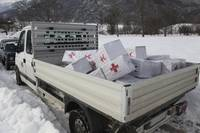 Medical supplies from the Montenegrin Red Cross si