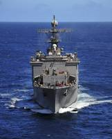 USS Comstock transits the Indian Ocean