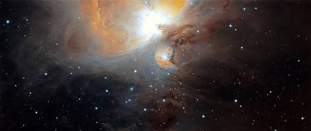 Part of the M42 nebula in Orion