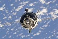 The Soyuz TMA 01M spacecraft