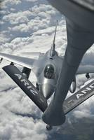 An F-16 from Colorado Air National Guard refuels f
