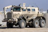 Buffalo mine protected vehicle