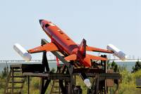 A BQM-167A Subscale Aerial Target is ready for lau
